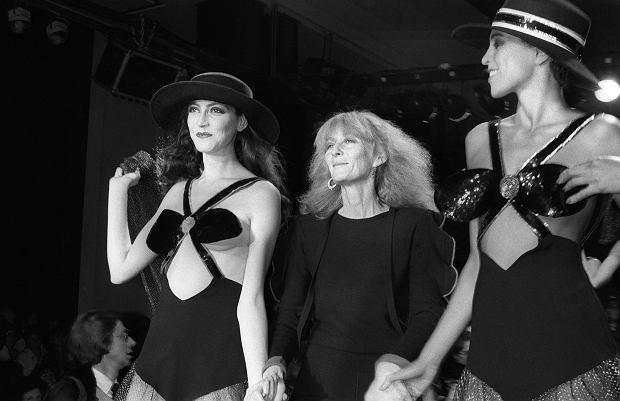 Pokaz marki Sonia Rykiel, 1980 r.