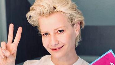 Małgorzata Kożuchowska pochwaliła się udziałem w szczytnej akcji, ale fani patrzą na tapetę w jej domu.