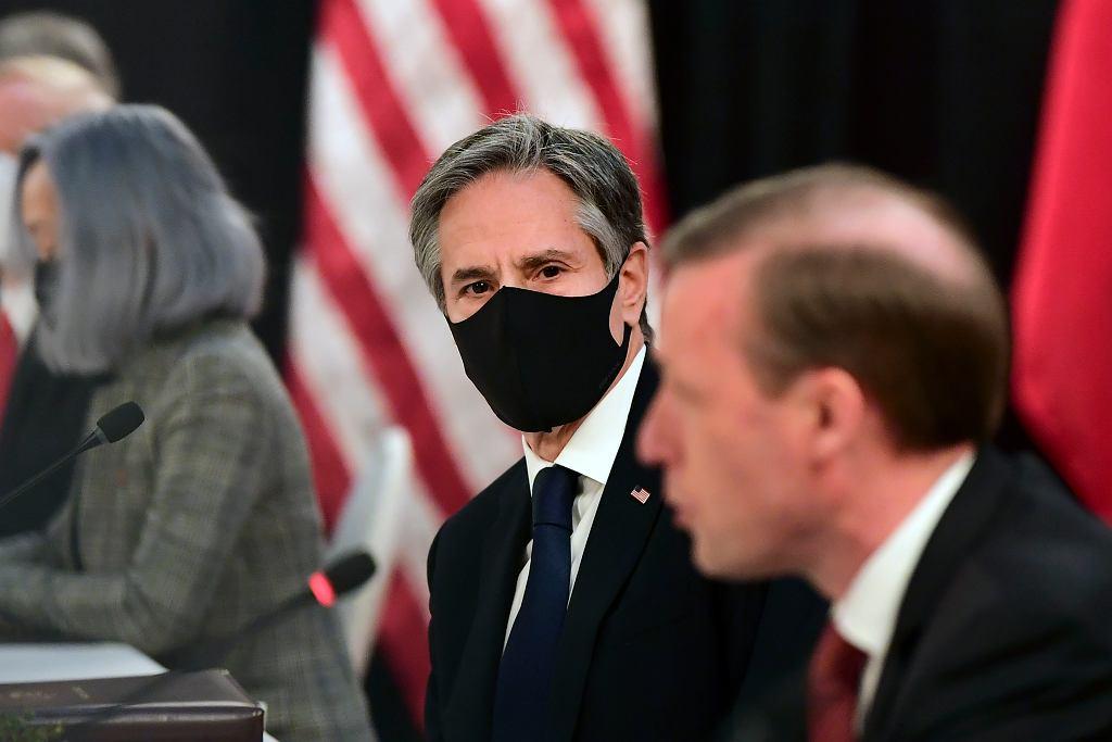 Spotkanie USA-Chiny, Anchorage