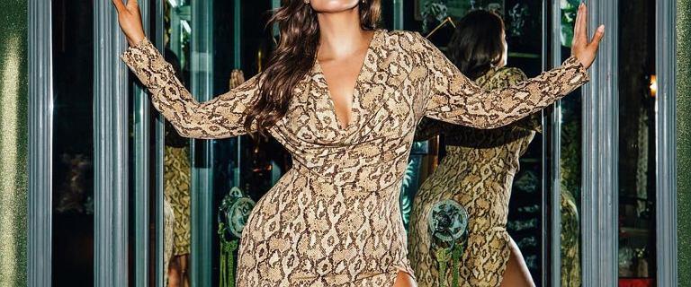 Piękne sukienki plus size. Kopertowe wzory, które was zachwycą