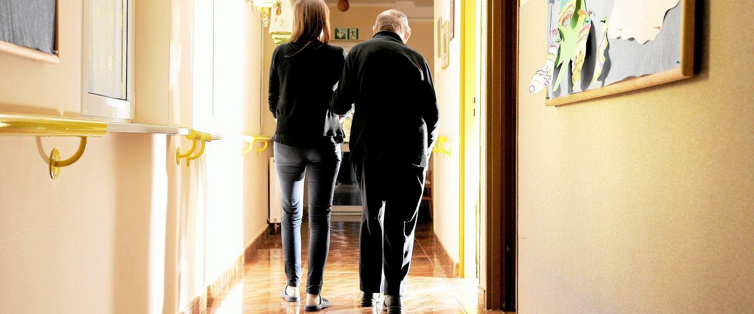 Dom dla chorych na Alzheimera w Olsztynie (Fot. Robert Robaszewski / Agencja Gazeta)