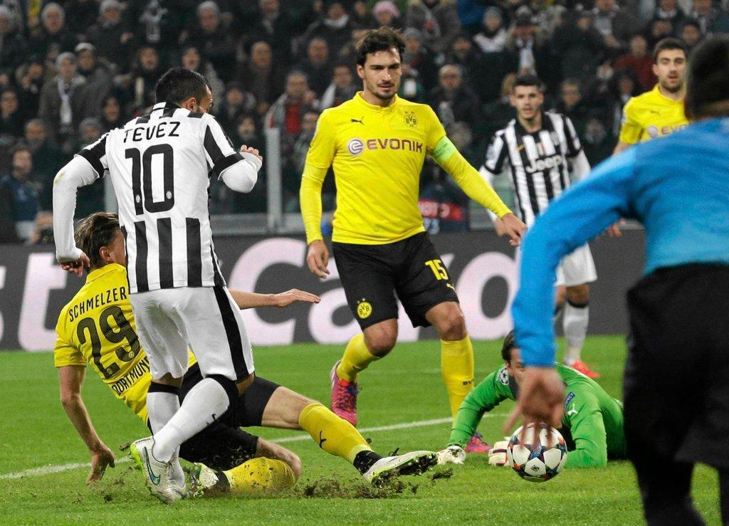 Juventus - Borussia 2:1