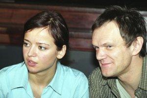 Anna Przybylska i Cezary Pazura