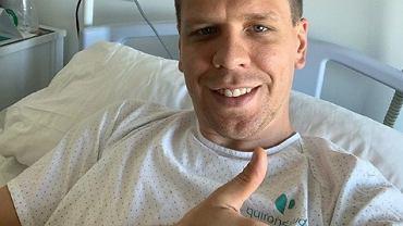 Wojciech Szczęsny w szpitalu. Sportowy świat życzy mu powrotu do zdrowia