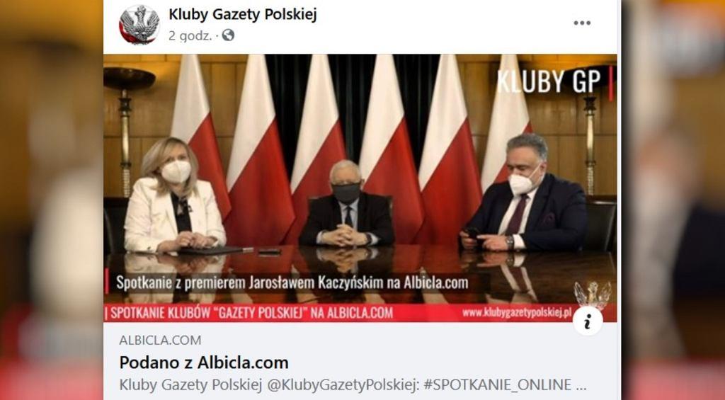 Spotkanie z Jarosławem Kaczyńskim
