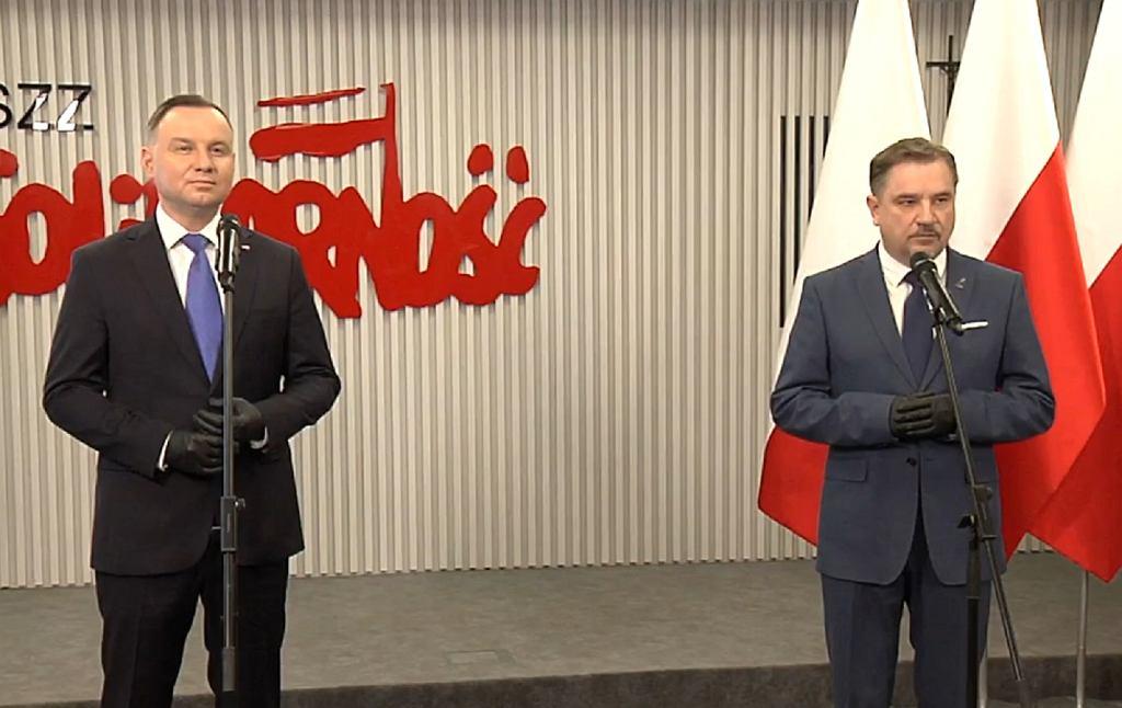 Andrzej Duda, Piotr Duda