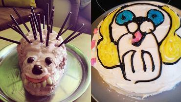 Najbrzydsze ciasta