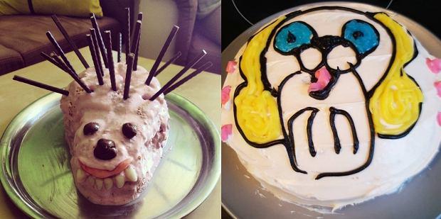 Najgorsze torty na przyjęcie urodzinowe. 15 ciast z koszmarów, nie tylko dziecięcych