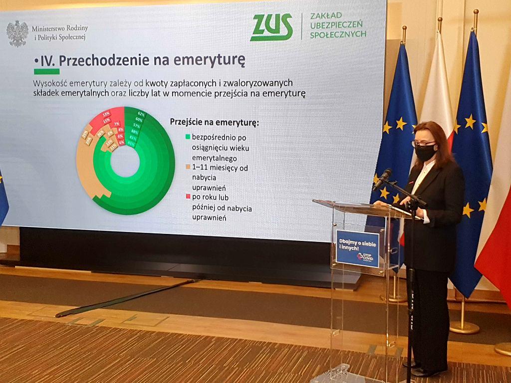 Prof. Uścińska o przechodzeniu Polaków na emeryturę