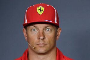 F1. Kimi Raikkonen odejdzie z Ferrari po tym sezonie