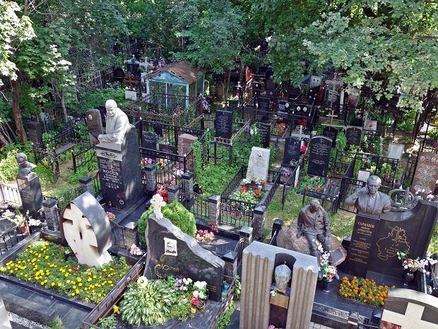 Cmentarz Wagańkowski w Moskwie