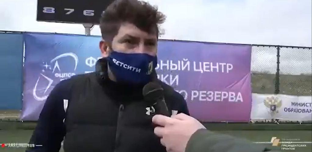 Rosyjski trener w pomeczowym wywiadzie mówił, że chce zastrzelić arbitra