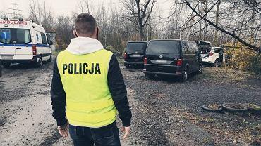Policyjny pościg i strzały w Rudzie Śląskiej