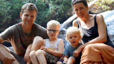 8 stóp, czyli podróżująca rodzina w komplecie: Paweł, Maciek, Kalina i Ola Wysoccy