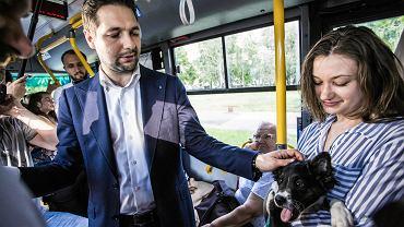 Wybory samorządowe 2018. Patryk Jaki przedstawił swoją propozycję rozbudowy sieci tramwajów w Warszawie