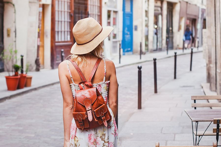 Plecak w miejskim stylu