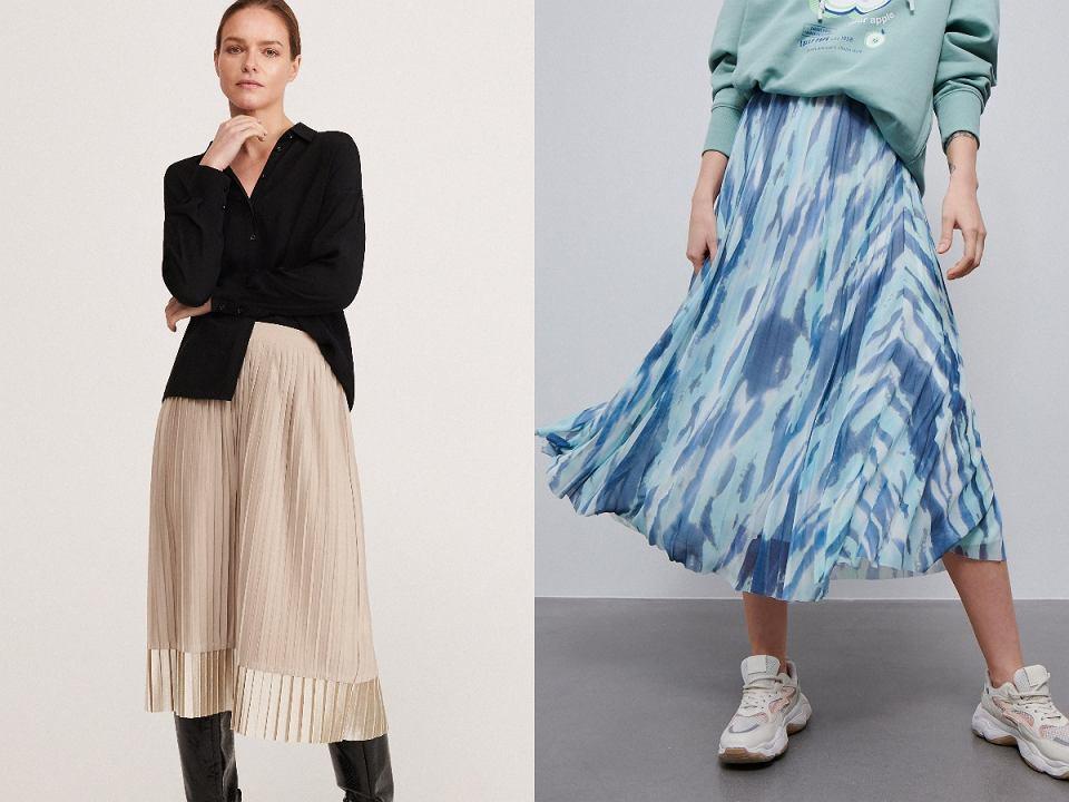 spódnice plisowane
