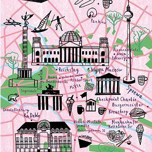 Berlin mapka