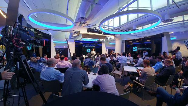 Shane Wall na obchodach 50 rocznicy istnienia HP Labs