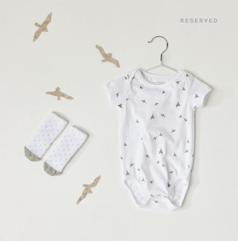 Reserved Newborn - nowa linia dla niemowląt (mat. pras)