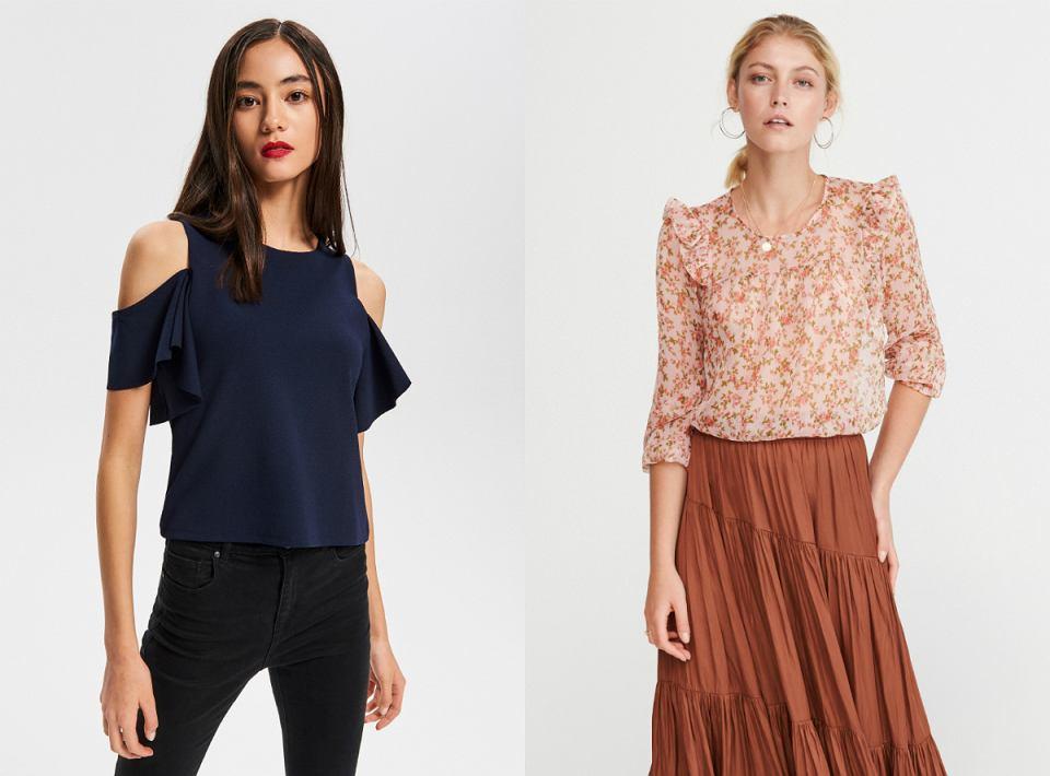 Eleganckie bluzki damskie