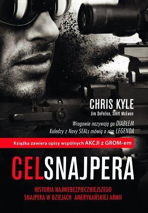 Chris Kyle, Cel snajpera. Wydawnictwo ZNAK, Strzelałem z legendarnym snajperem Navy SEALs, broń, mój pierwszy raz