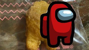 Nuggets z McDonald's niczym lody Ekipa. Sprzedany na aukcji za 100 tys. dolarów. Przypomina postać z Among Us