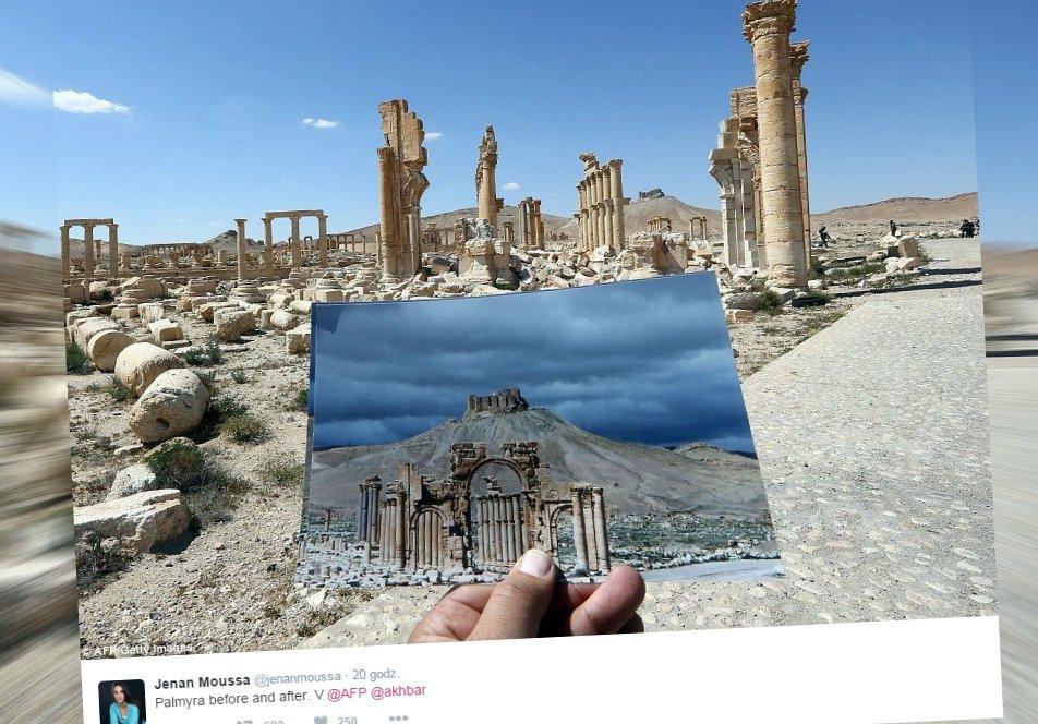 Tak wygląda starożytna Palmira po odbiciu z rąk dżihadystów