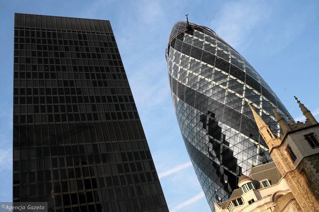 Londyn, City - biznesowa dzielnica
