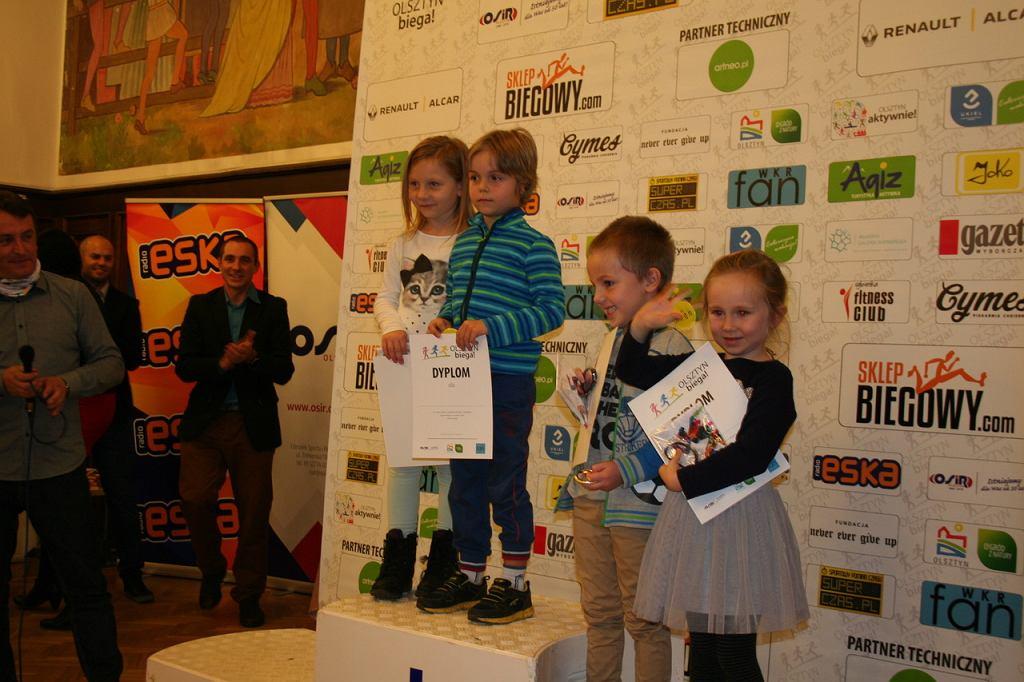 Laureaci Olsztyn Biega 2016 w kategoriach wiekowych