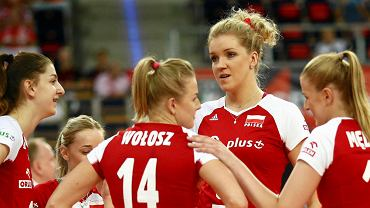 Łódź. Mistrzostwa Europy w siatkówce kobiet. Polska - Portugalia 3:0