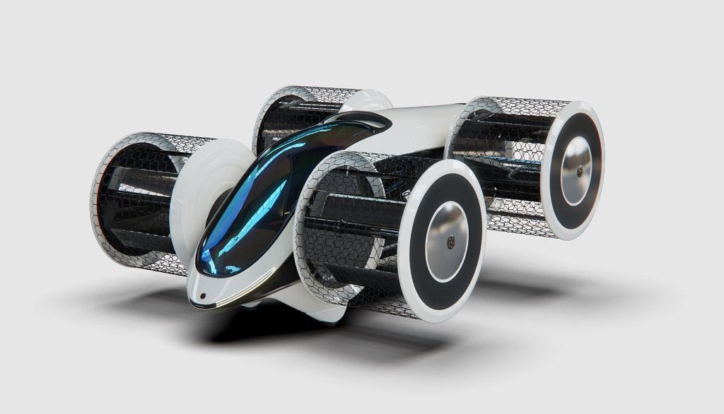 Latający samochód Cyclocar