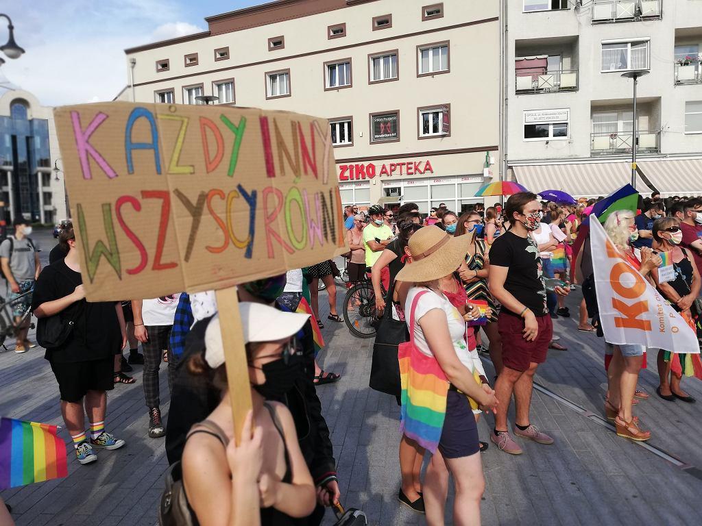Opole. Manifestacja solidarności z Margot