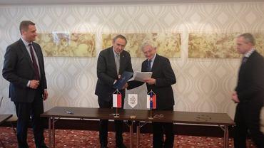 Podpisanie umowy o współpracy między Polskim i Słowackim Komitetem Olimpijskim