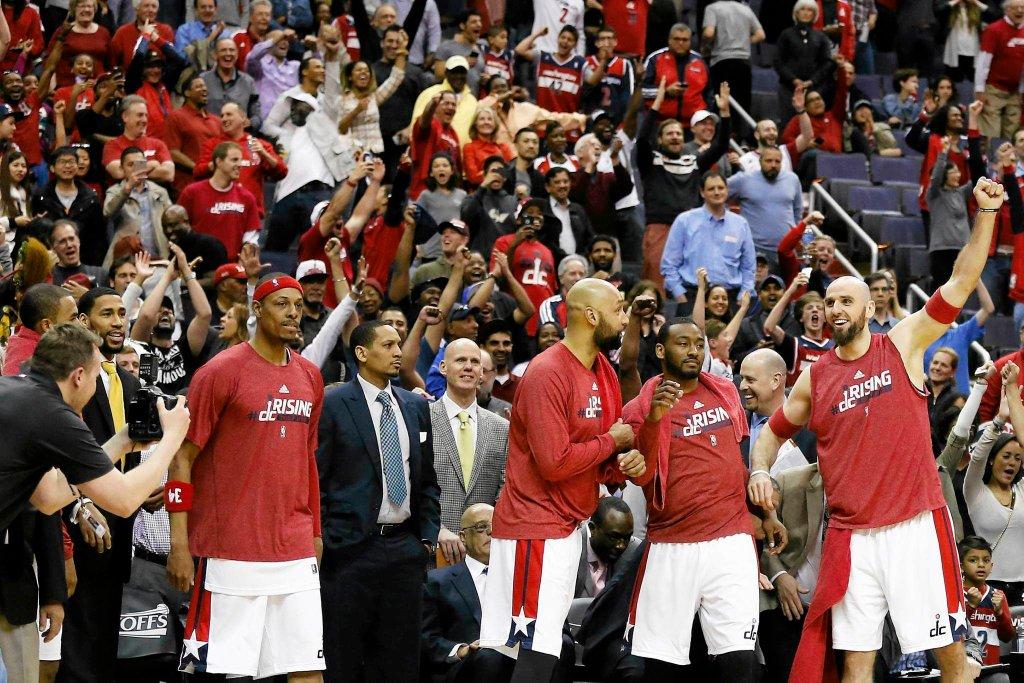 Washington Wizards wyeliminowali w pierwszej rundzie play-off NBA Toronto Raptors