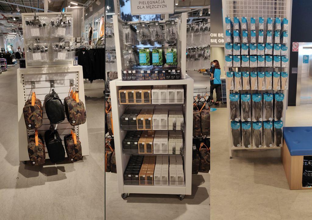 Akcesoria kosmetyczne i wkładki do butow