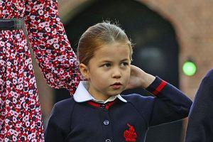 Księżniczka Charlotte idzie do szkoły podstawowej