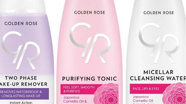 Nowe produkty do demakijażu Golden Rose