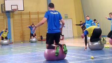 Piłkarze Cracovii na zgrupowaniu w Uniejowie