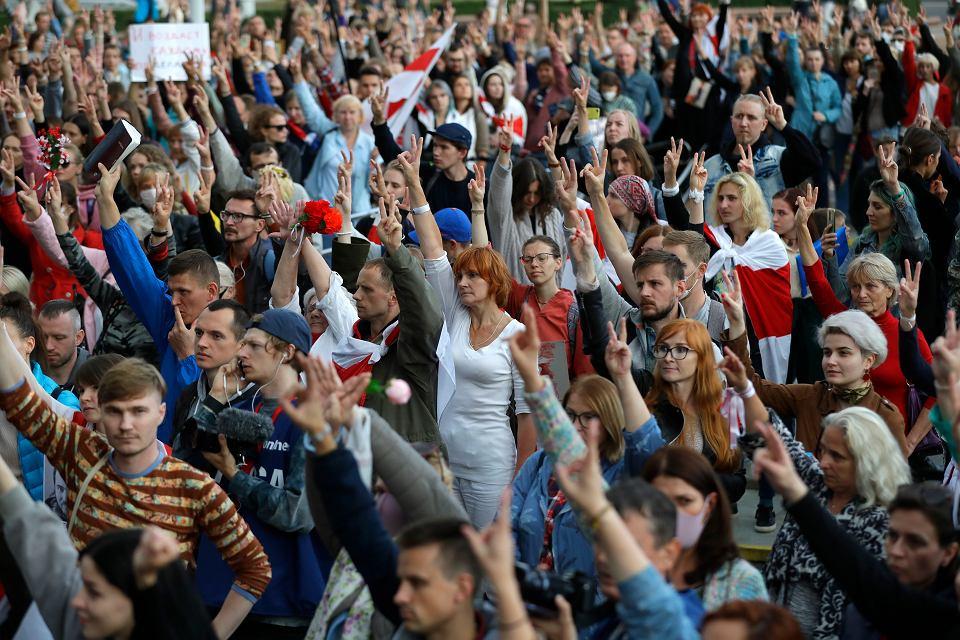 Białorusini już wygrali. Putina i Łukaszenki kiedyś nie będzie. A oni będą, Mińsk 27.08.2020