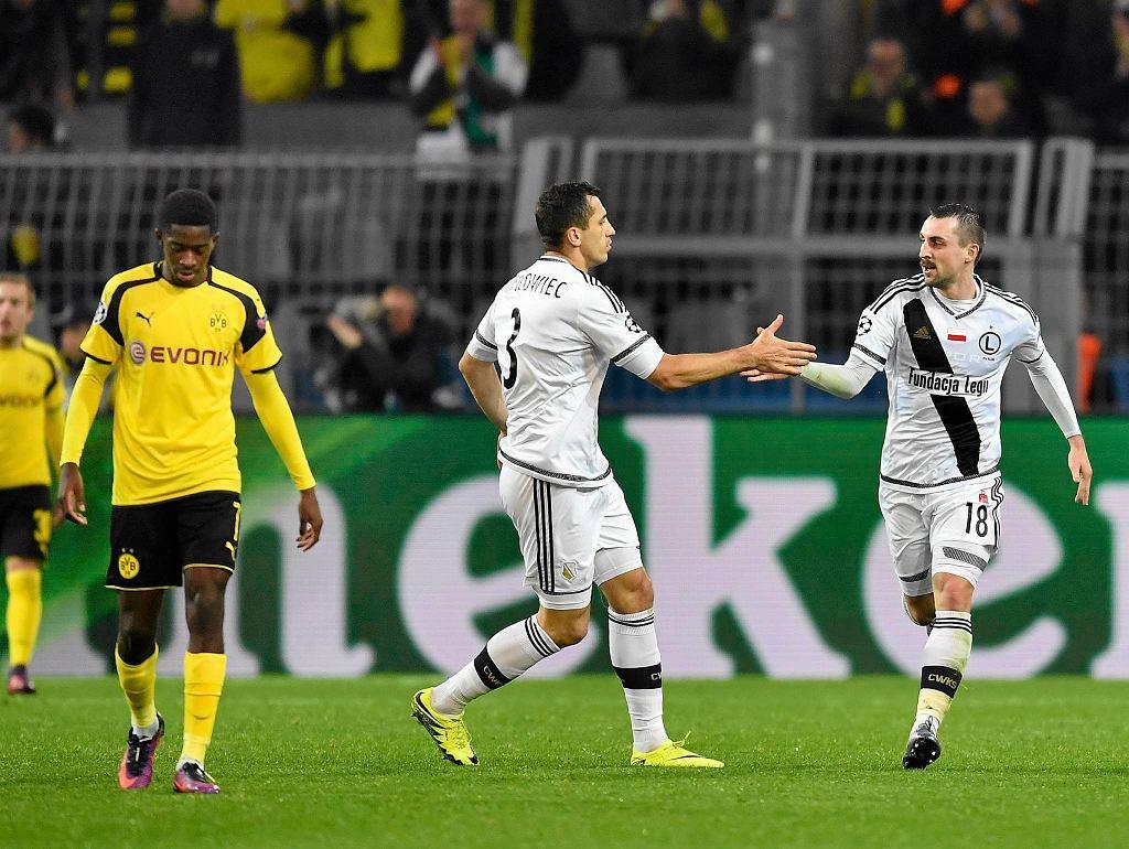 Liga Mistrzów. 8:4 w meczu Borussia - Legia.