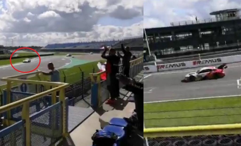 Robert Kubica z pierwszym punktem w DTM po wyścigu na torze Assen