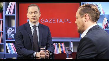 Cezary Tomczyk był gościem porannej rozmowy Gazeta.pl