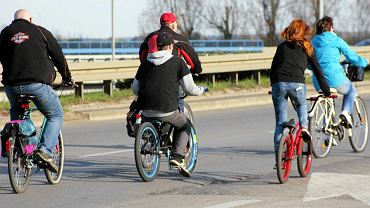 Rowerowa Masa Krytyczna w Gorzowie