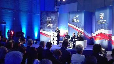 Wybory parlamentarne 2019. Jar Kaczyński mówił w Opolu o służbie zdrowia