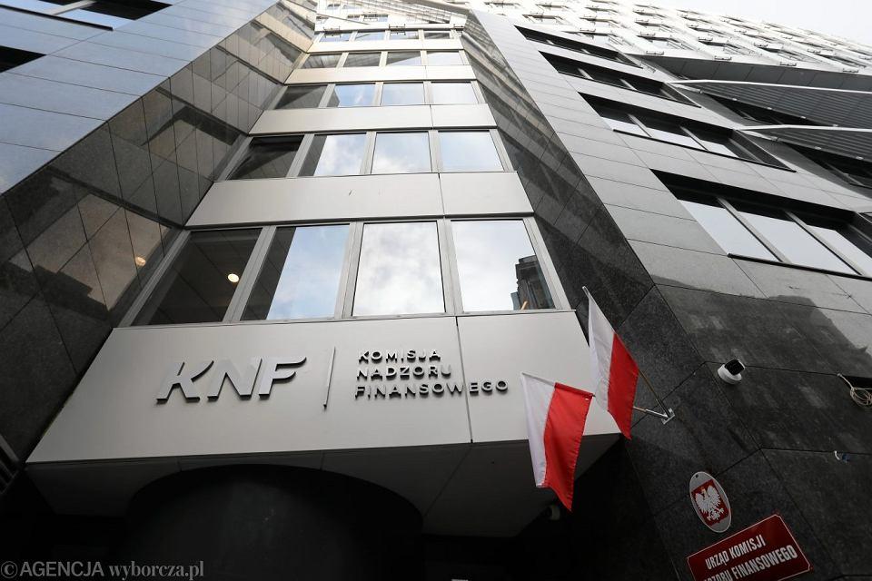 Budynek Komisji Nadzoru Finansowego