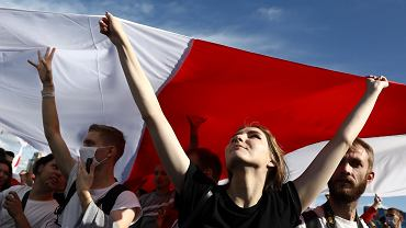 Protest w Mińsku, 13 września 2020