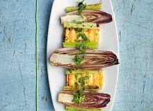 Grillowana cykoria z tofu - ugotuj