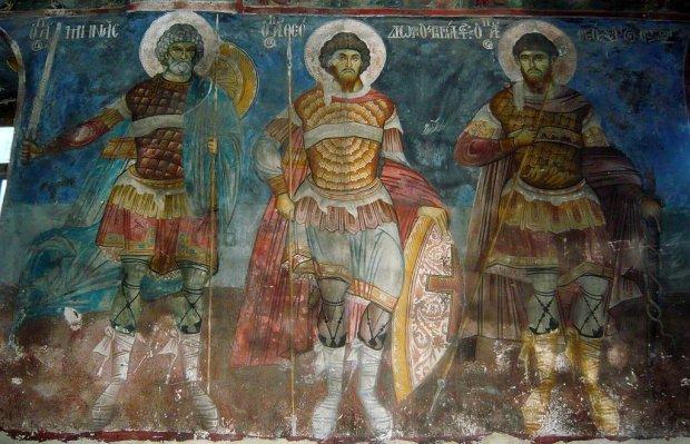 Freski z cerkwi św. Mikołaja