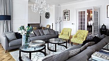 Dom w Warszawie - klasyczna elegancja